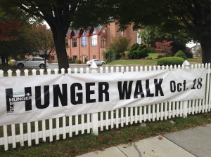 hunger walk banner