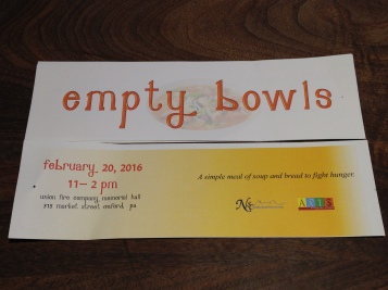 empty bowls ticket