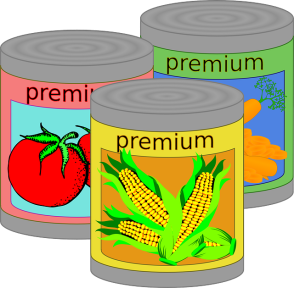 canned veggies drawing