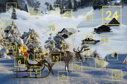 reindeer advent